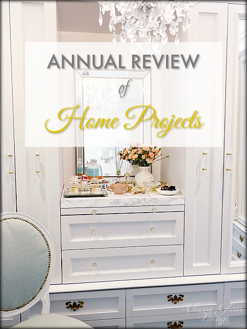 New House Home Projects   Classy Glam Living