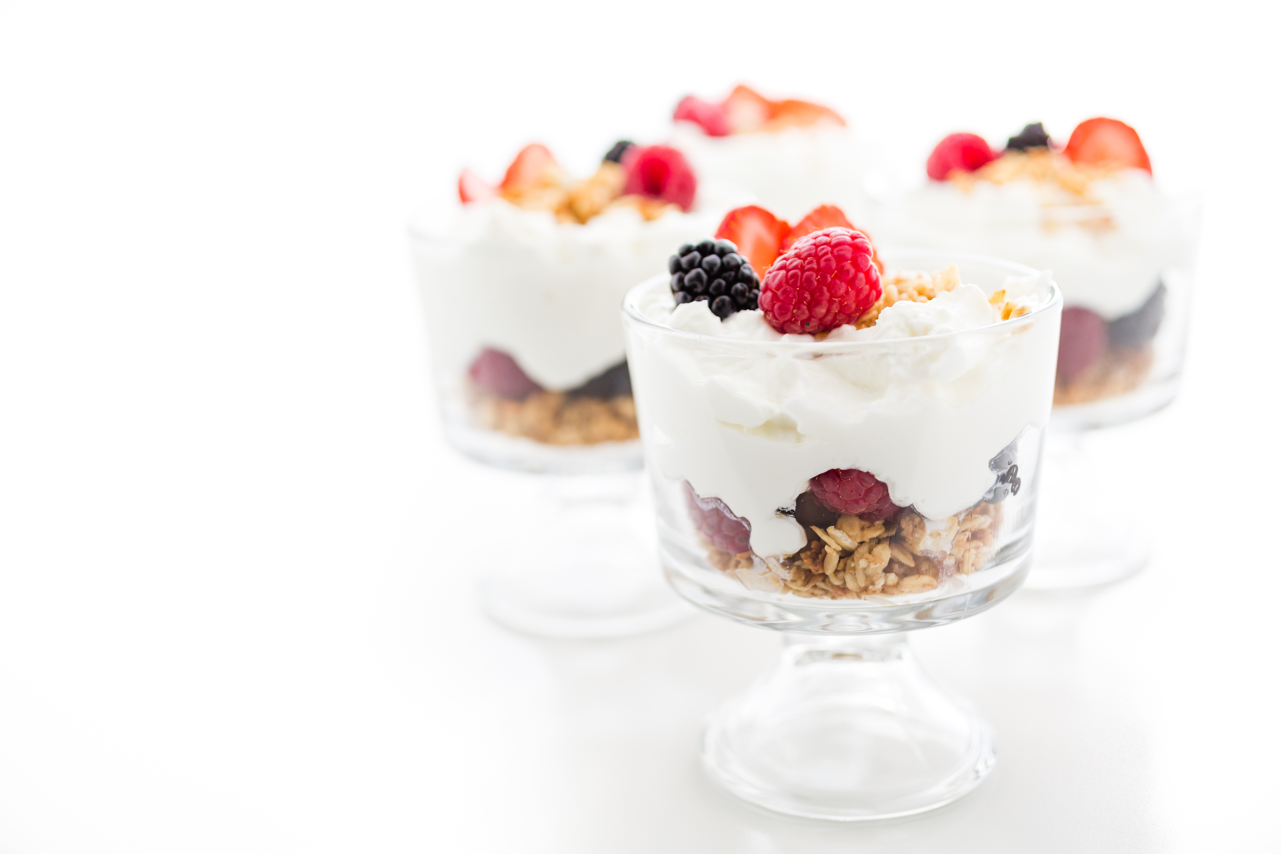 Greek Yogurt Breakfast Parfaits