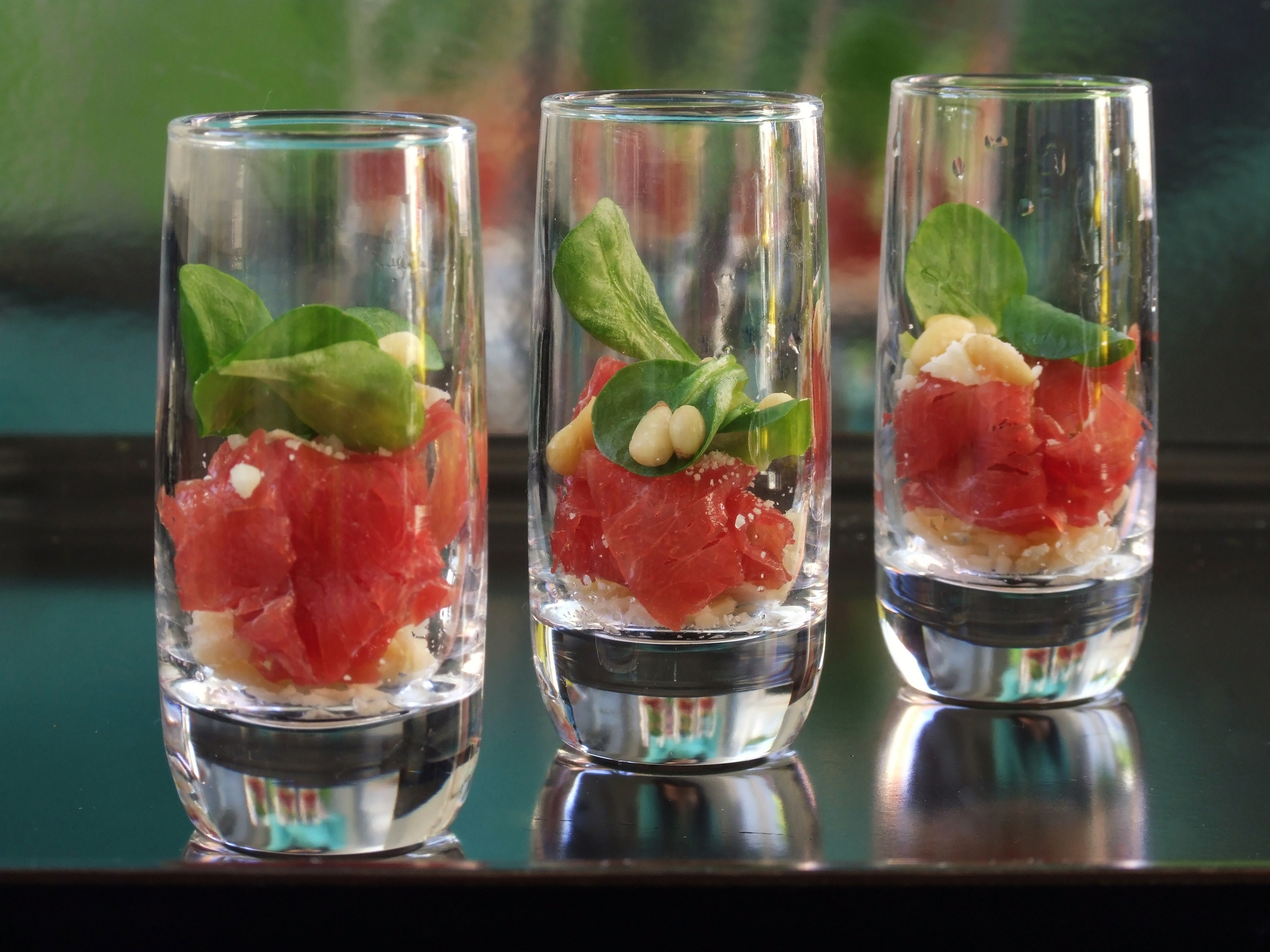 Carpaccio Shooters