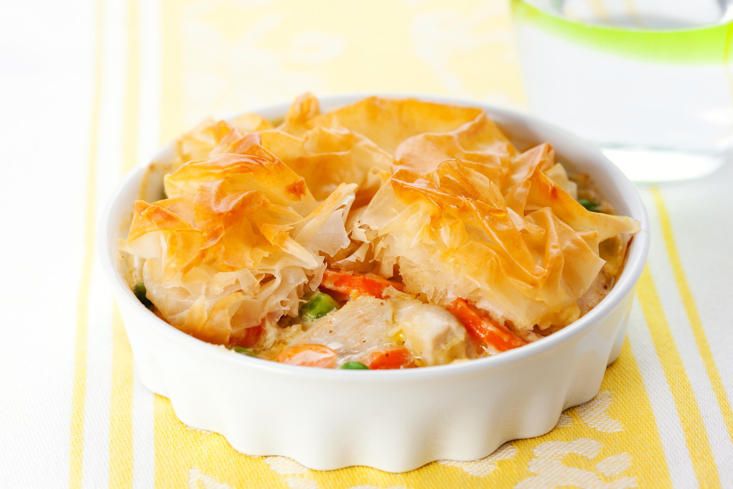 Updated Chicken Pot Pie