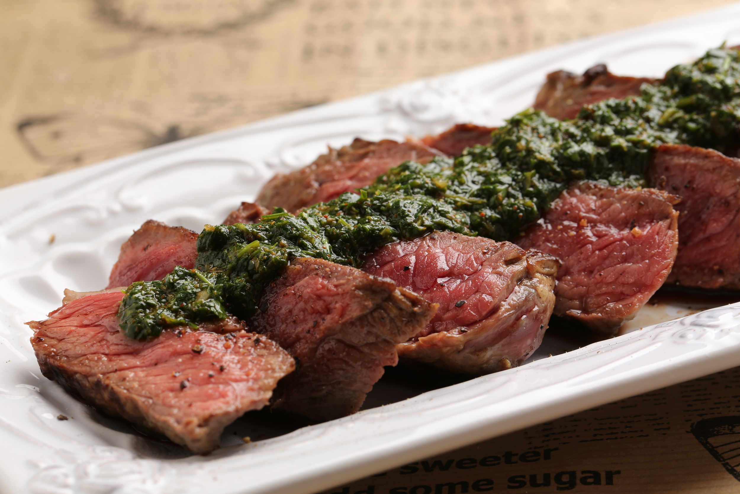 Steak and Chimichurri