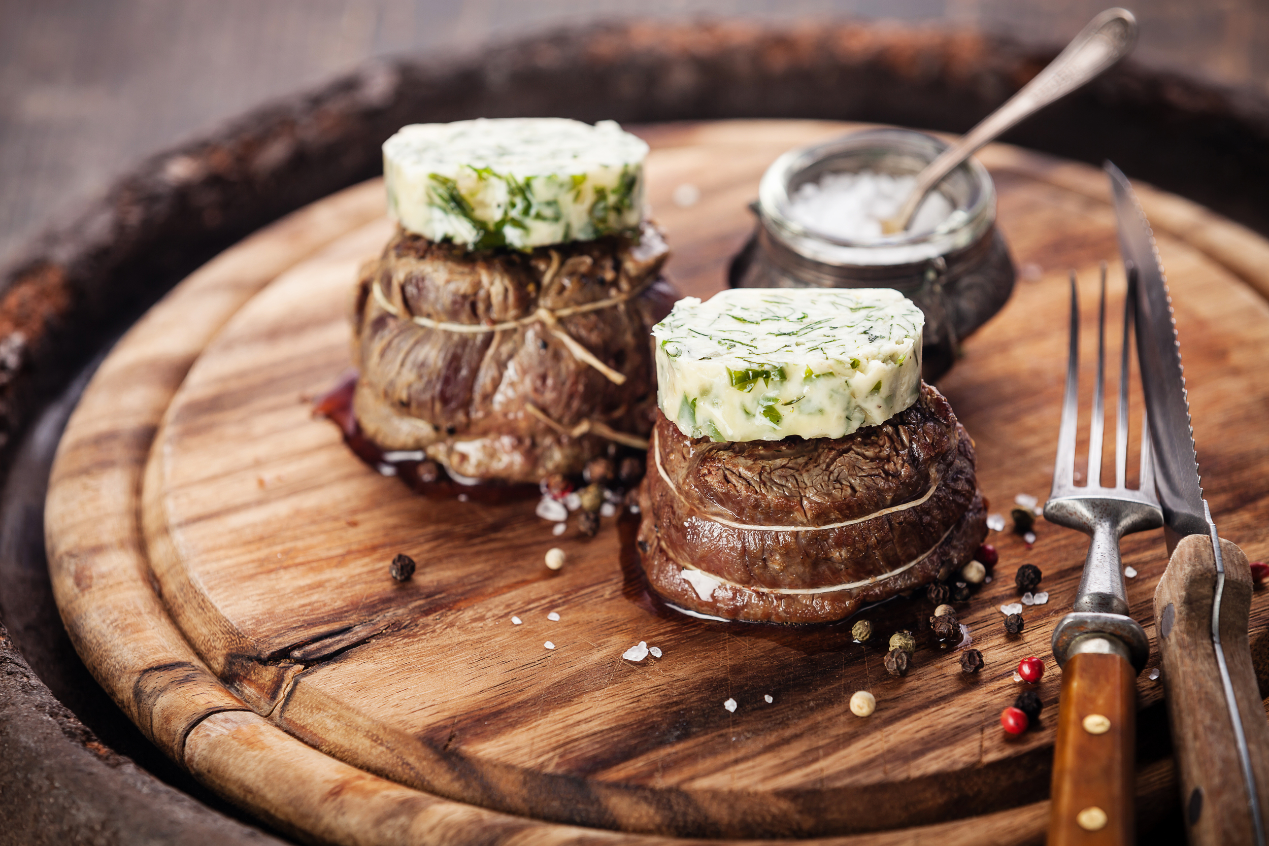 Filet Mignon and Herb Compound Butter.jpg
