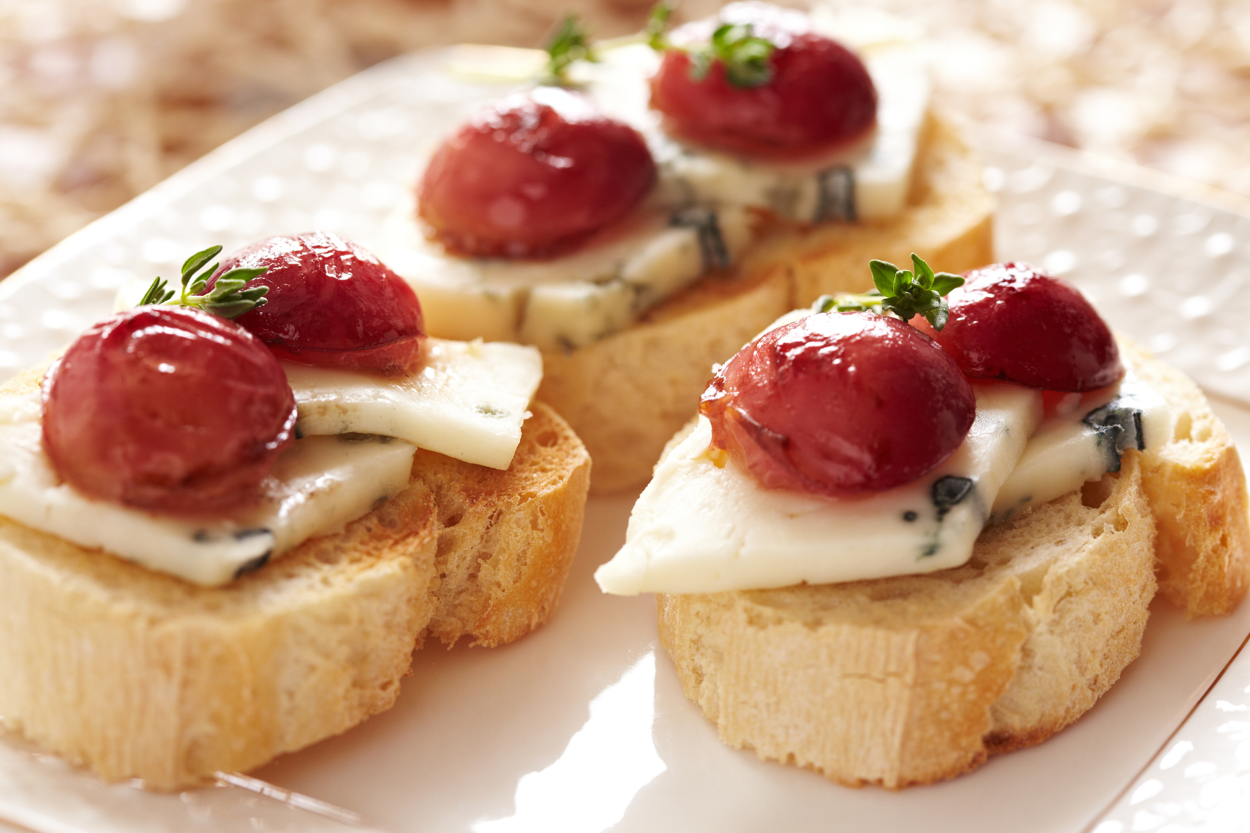 Grape Crostini