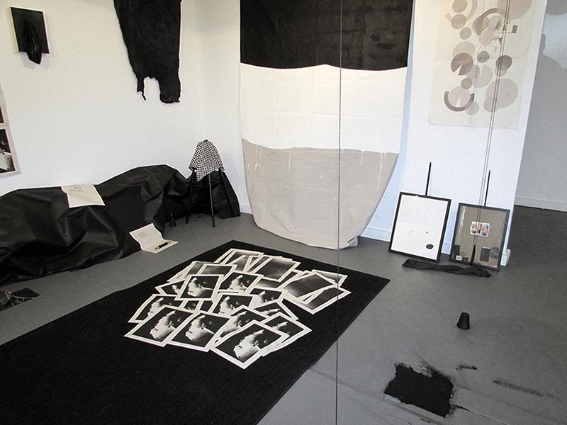 """as previously seen"" mixed-media installation, 2015"