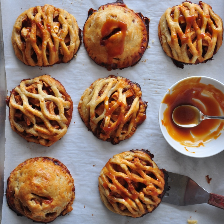 Salted Caramel Hand Pies