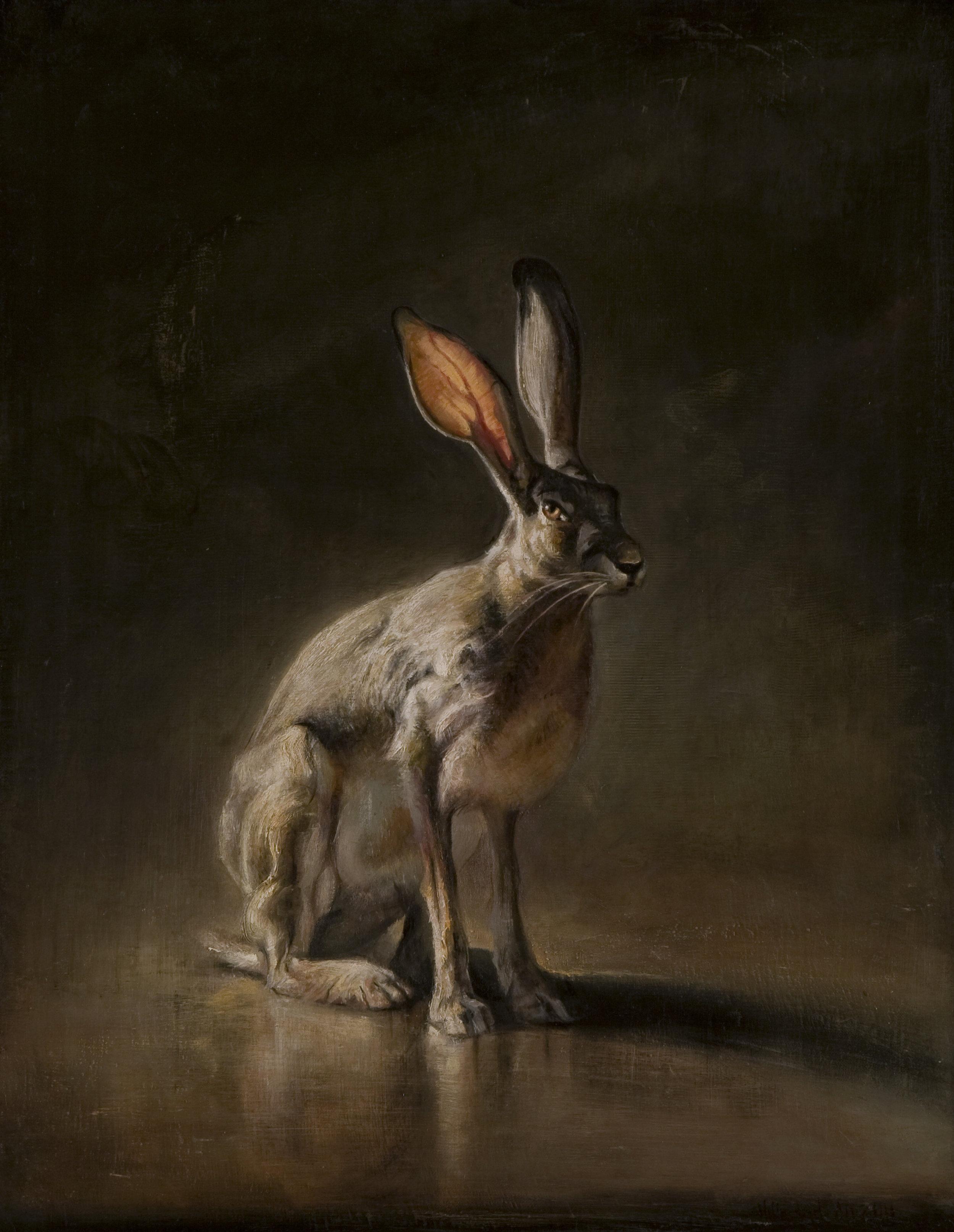 "Hare  |  28"" x 22"""