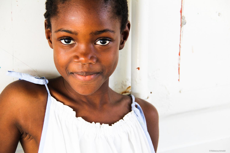 Port Au Prince, Haiti, St. Luke orphan.