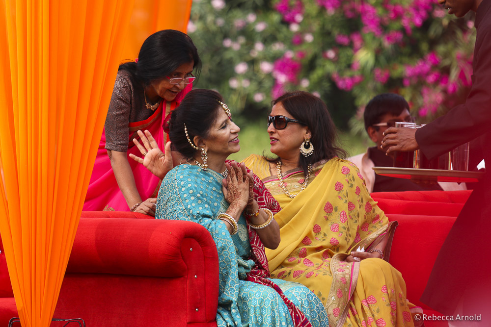 Sarina's mom and aunties