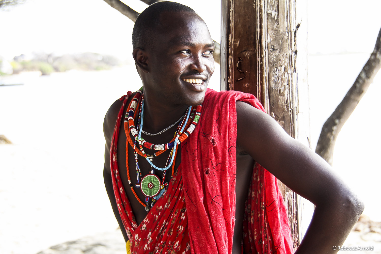 Massai Tribesman, Kenya