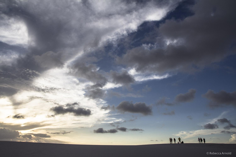 Dune Silhouette,  Brazil