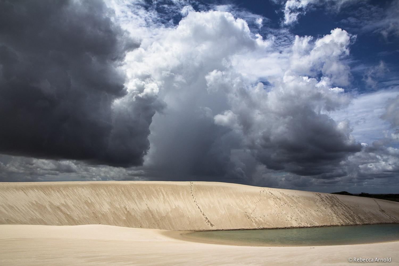 Dunes & Tumultuous Sky, Brazil