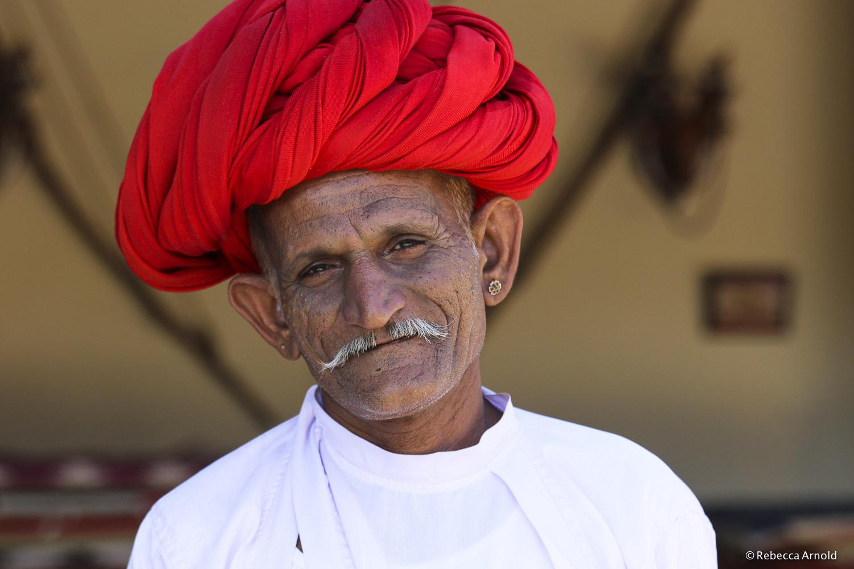 "Tribal Turban, India 2015   16"" x 24"" | 24"" x 36"" | Custom Sizes  Archival Pigment Prints  Edition: 150"