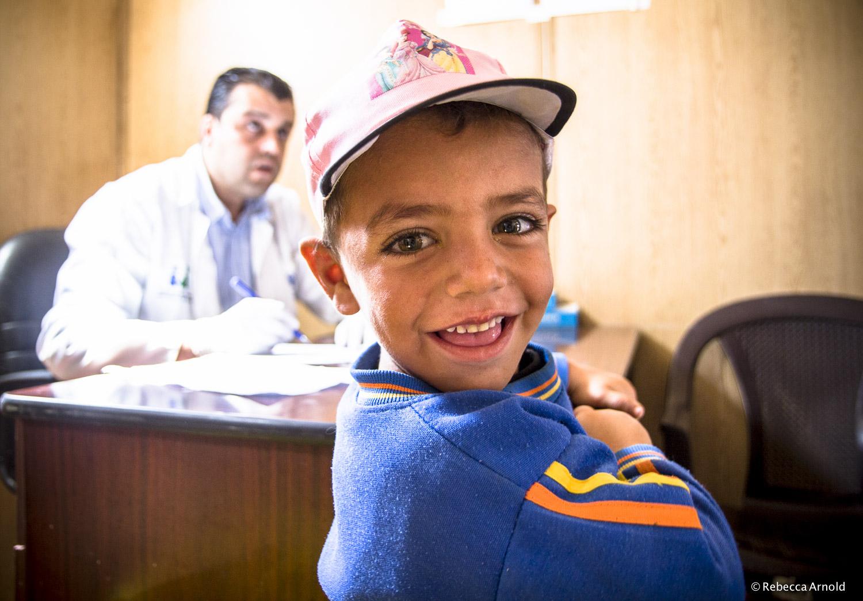 Doctor Visit, Zaatari, Jordan