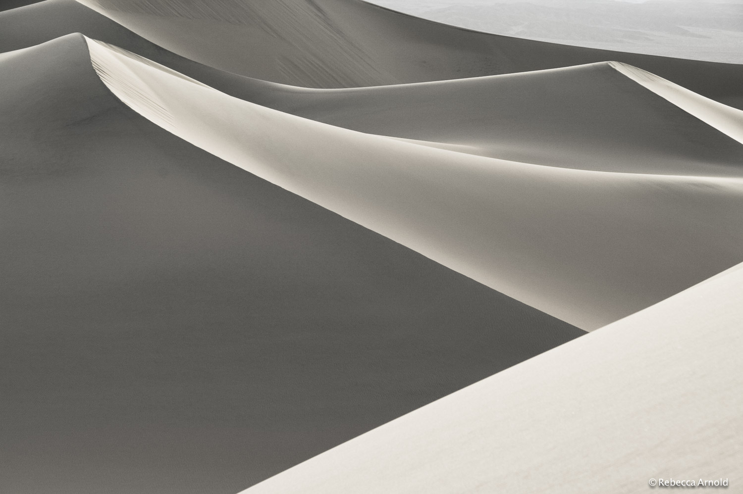 "Divergent Dunes, California, USA 2009  16"" x 24"" 