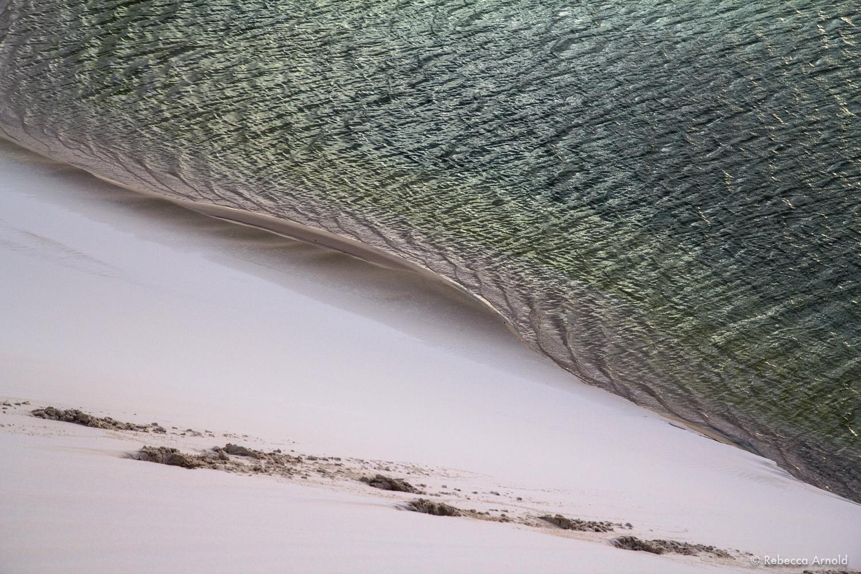 "Dune Wave, Brazil 2013  16"" x 24"" | 24"" x 36"" | Custom Sizes   PURCHASE  Archival Pigment Print  Edition: 150"
