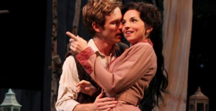 The Seagull,  American Players Theater, Director: John Langs                                         Photo Carissa Dixon