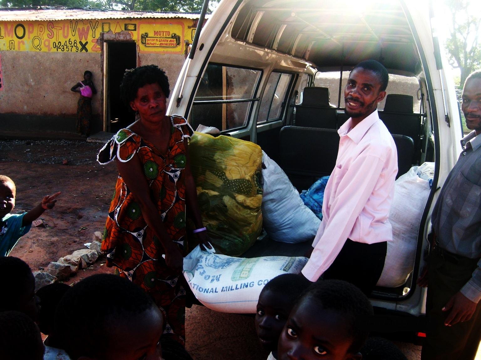 Donate   Distribution