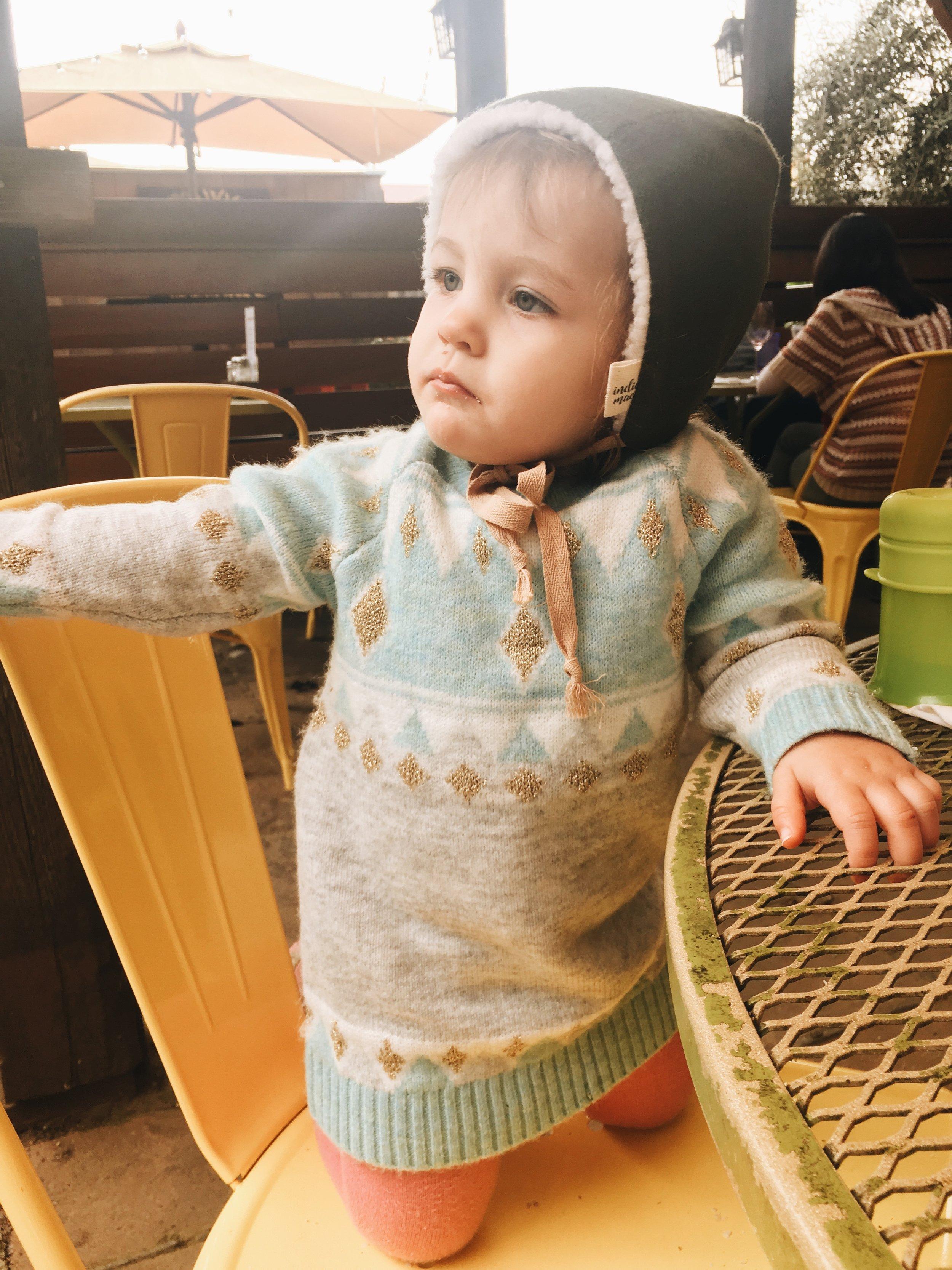 Margot at Sunflower Caffe