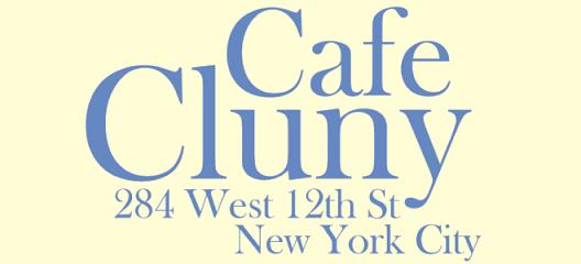 West Village Cafe Cluny