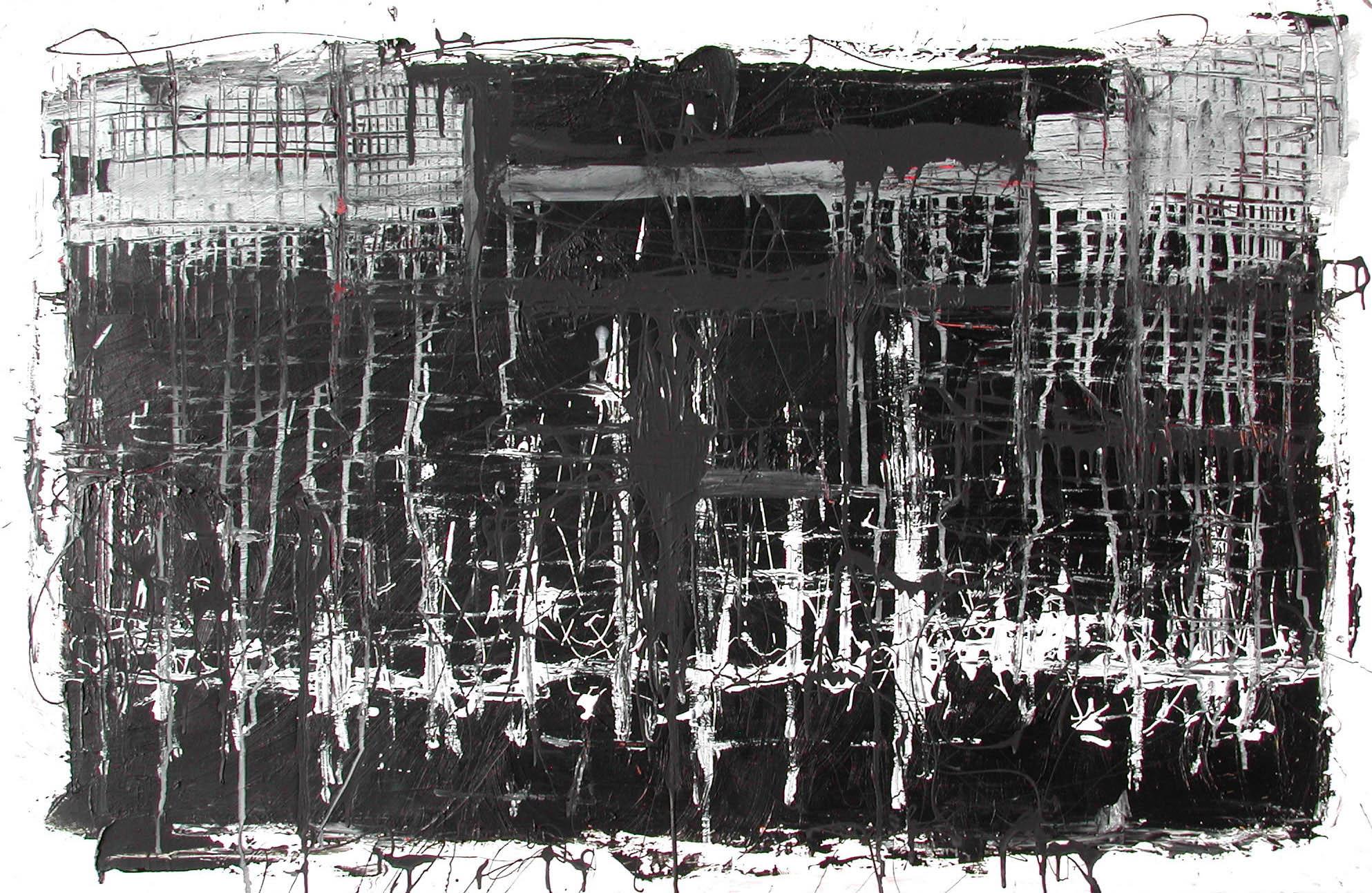 Nightfall, 2003Acrylic on canvas, 30 x 46 inches