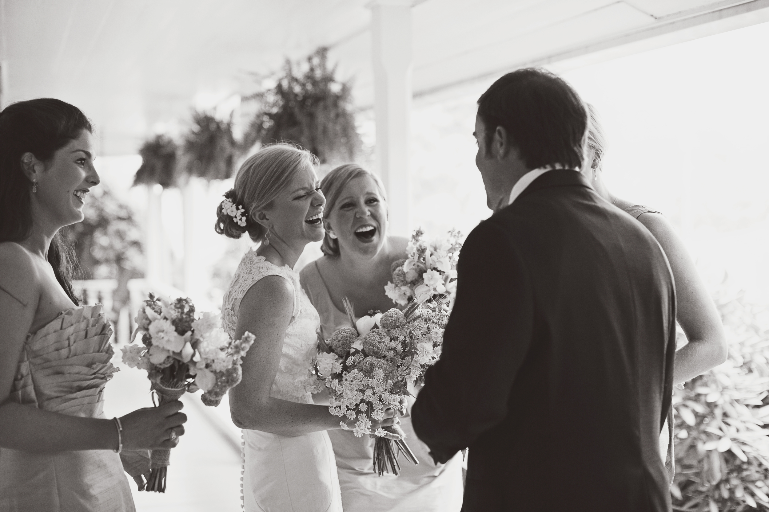 """""""Heather and Jason were awesome! We are so glad we had them do our wedding pictures :)"""" -Anna + John"""