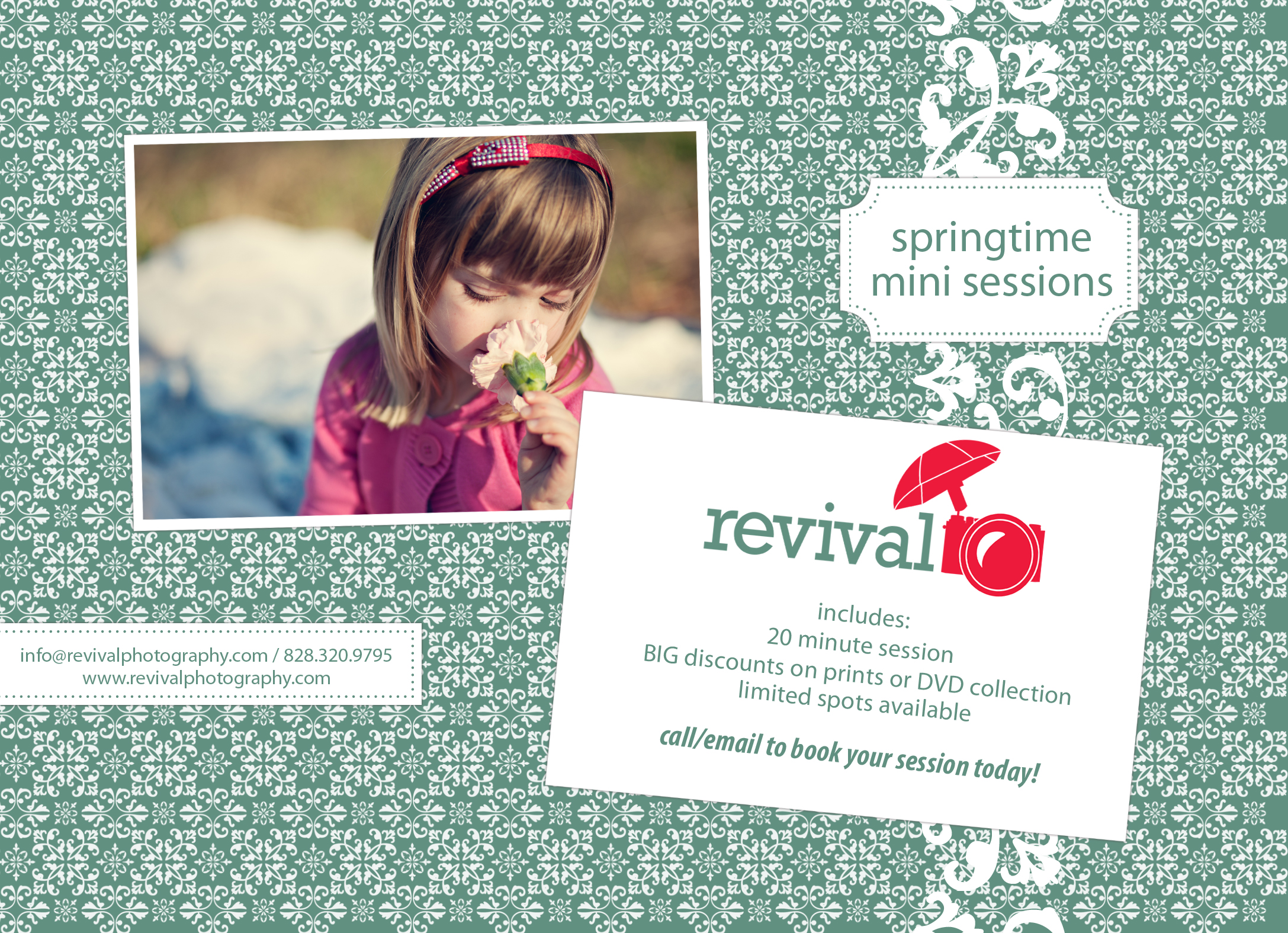 Revival Photography March Mini Sessions!