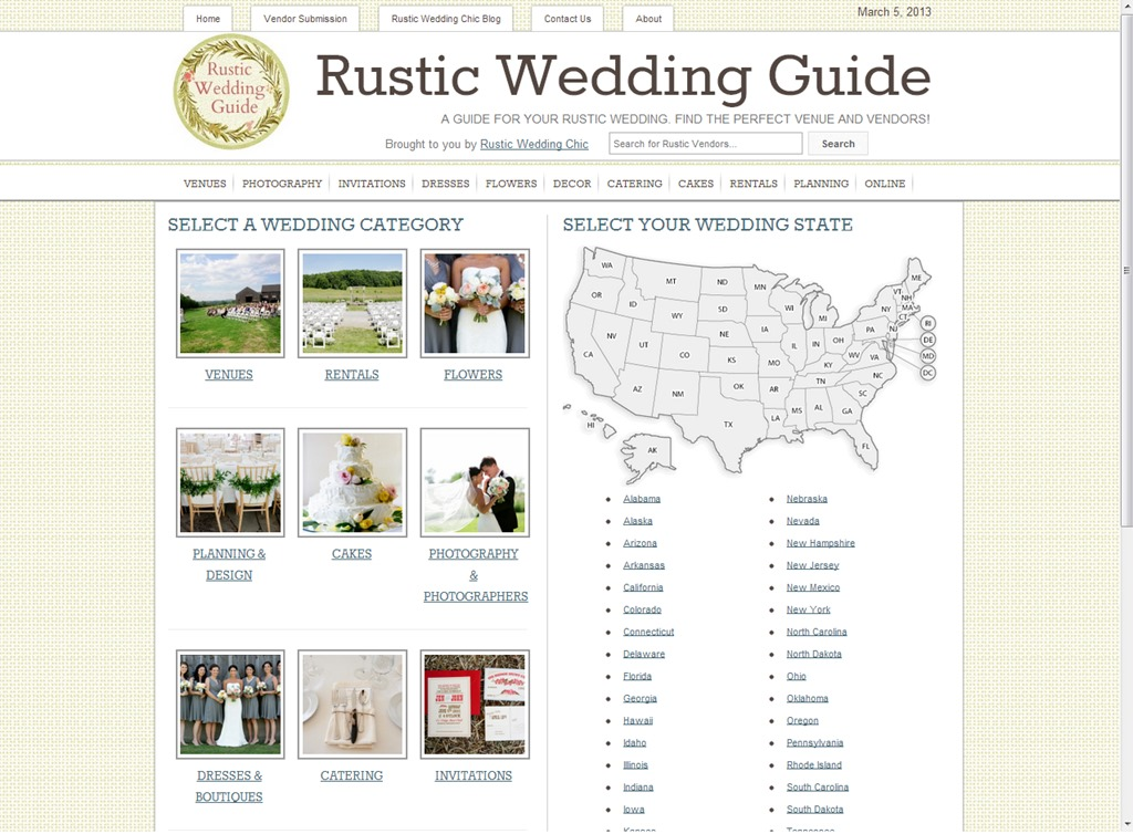 Revival Photography Featured on the Rustic Wedding Guide Website Photo