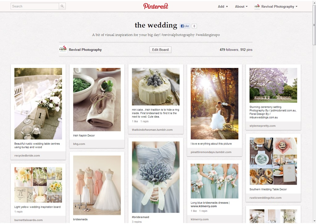 4 Ways to Use Pinterest to Plan Your Wedding
