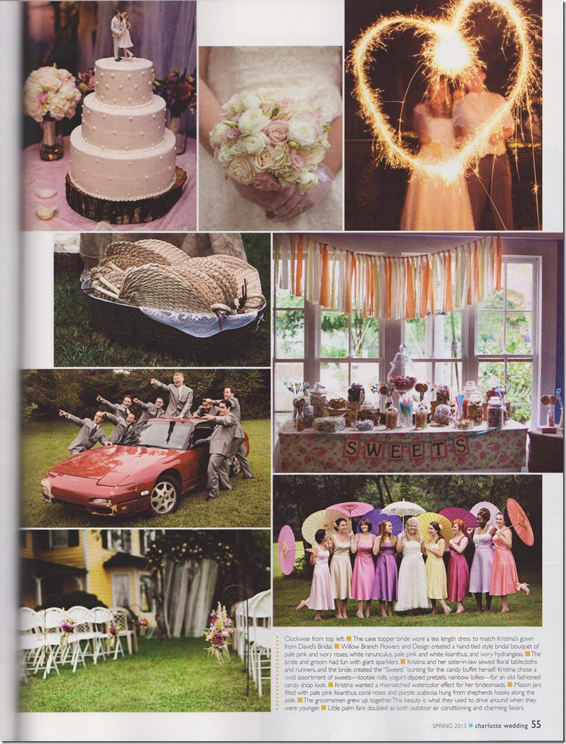 Revival Photography Featured in Spring 2013 Charlotte Wedding Magazine Revival Photography North Carolina Wedding Photographers Photo