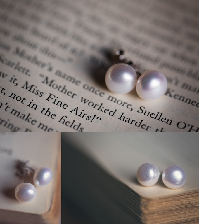 Photo by Revival Photography Vintage Wedding Inspiration Pearl Earrings Bridal Jewelry Pearls Photo