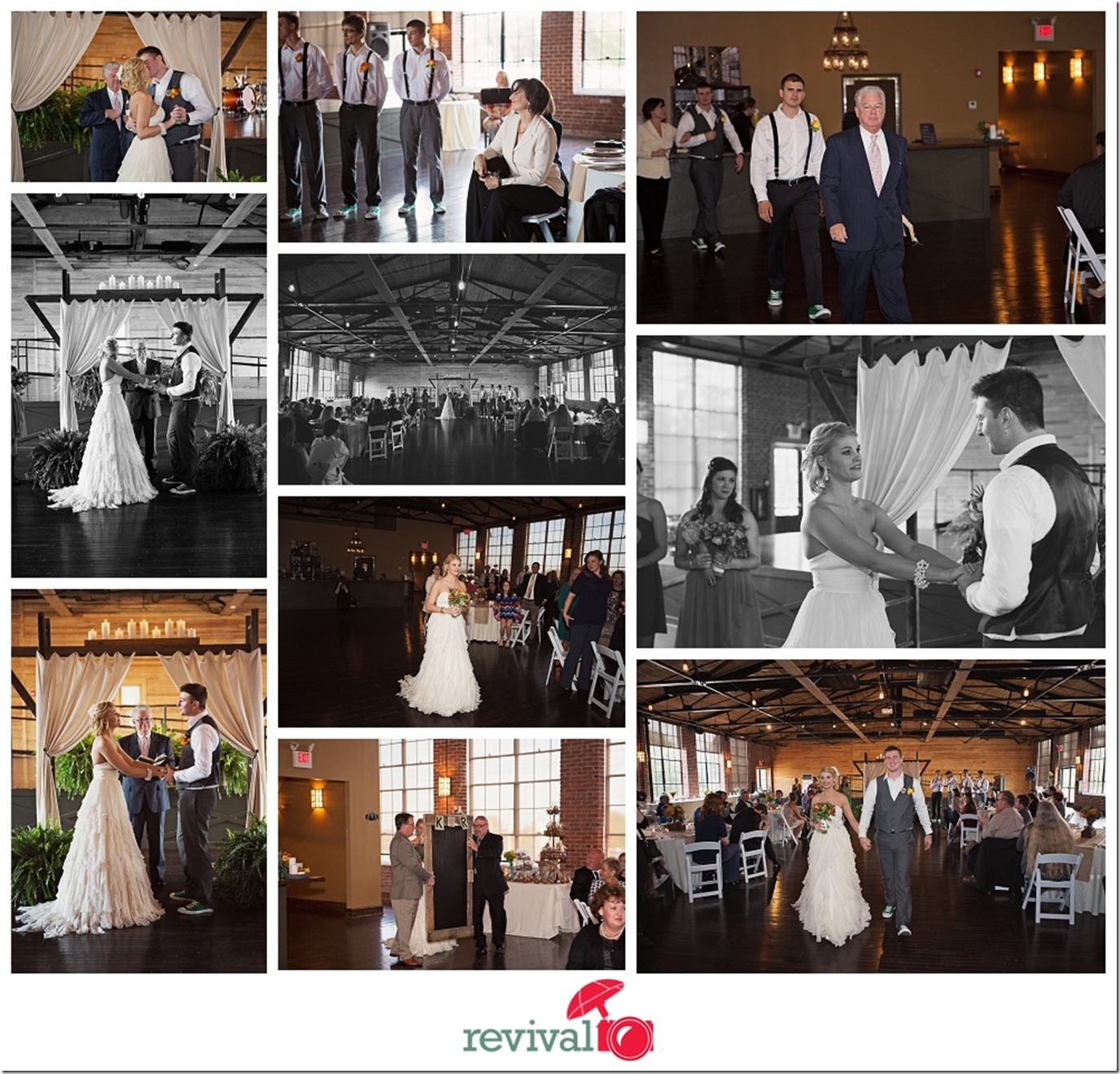 A Rustic Fall Wedding at The Crossing at Hollar Mill in Hickory, NC Photography by Revival Photography NC Wedding Photographers in North Carolina Revival Photography Photo