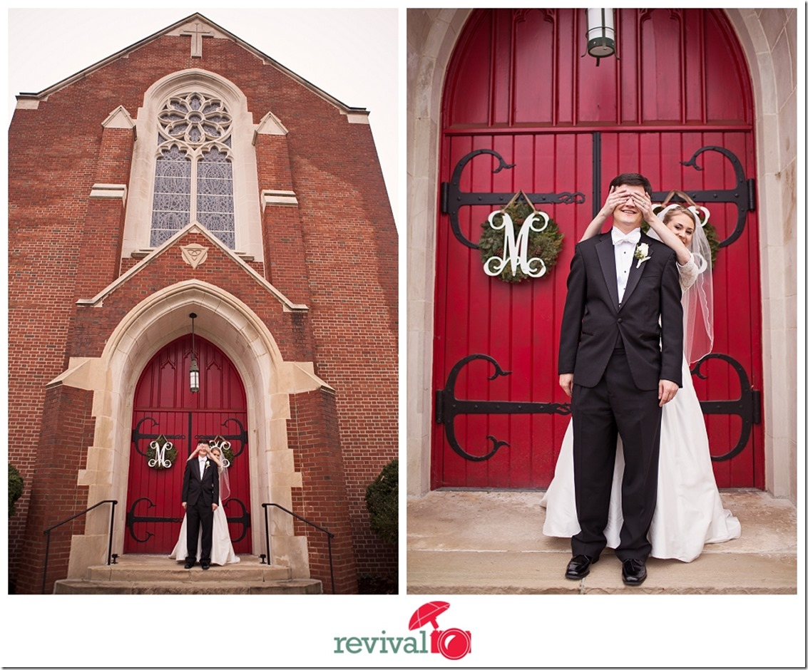 George and  Ashley a Winter Wedding in Hickory NC Photo by Revival Photography NC Wedding Photographers Photo