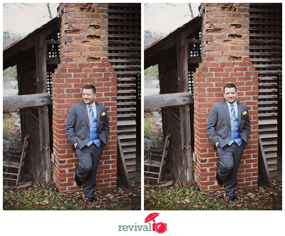 The dashing groom...