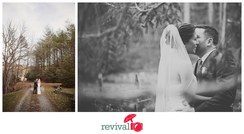 Photo by Revival Photography Elopement at The Mast Farm Inn Photo