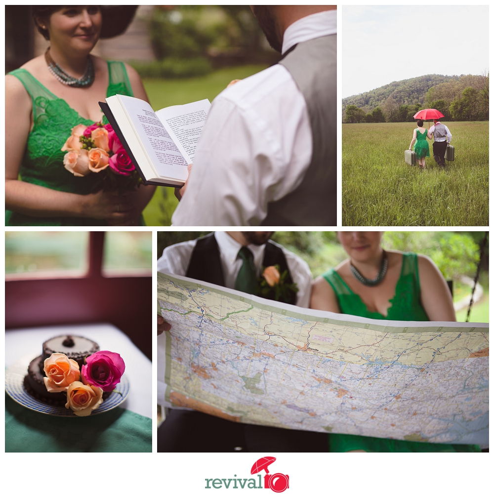 Photos by Revival Photography Valle Crucis Elopements at The Mast Farm Inn