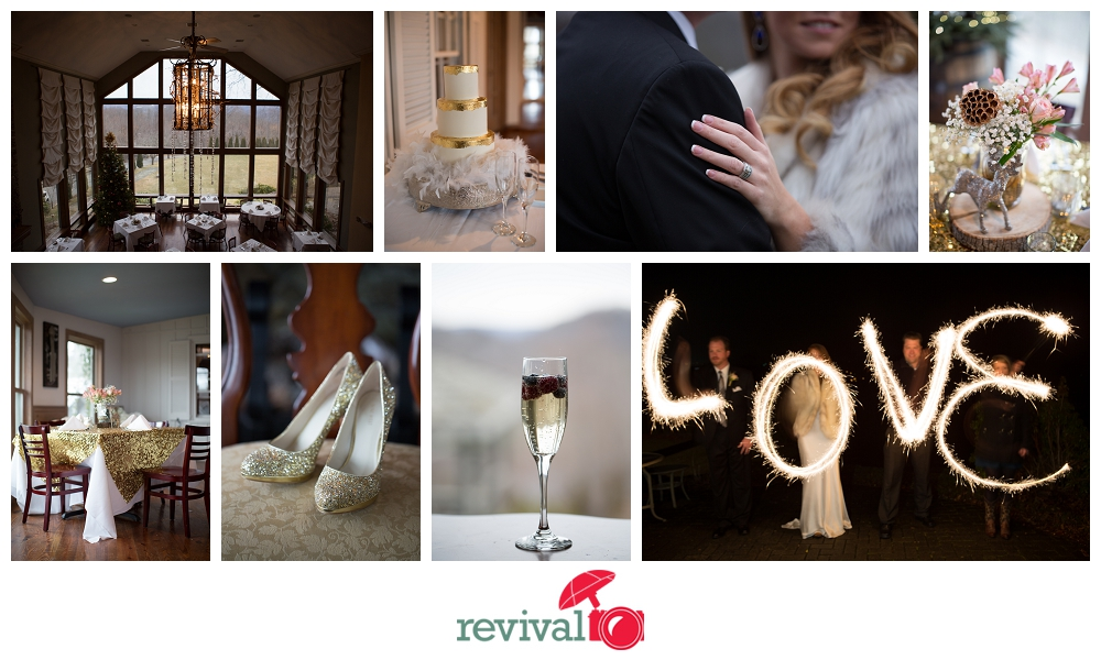 Winter Mountain Weddings Vintage Weddings at Crestwood Resort Photography by Revival Photography