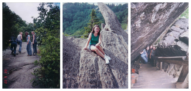Old Photographs of Chimney Rock Adventures