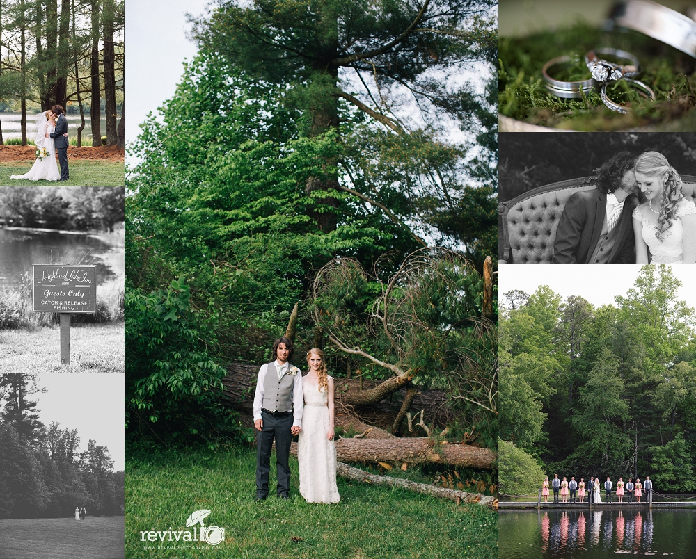 Earthy Elegant Wedding Photos by Revival Photography Wedding at the Highland Lake Inn in Flat Rock NC Wedding Photos by www.revivalphotography.com