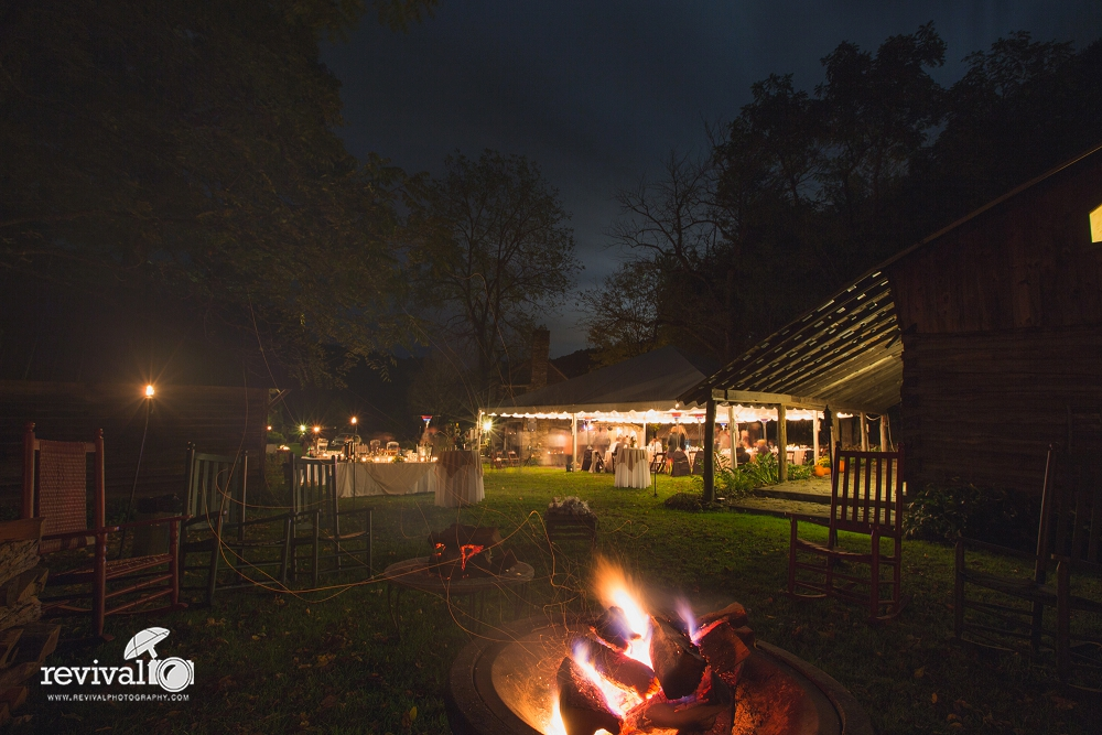 There's something about sitting around the fire in the evening, talking, roasting marshmallows, listening to music. Your guests will love it! Revival Photography Blog www.revivalphotography.com