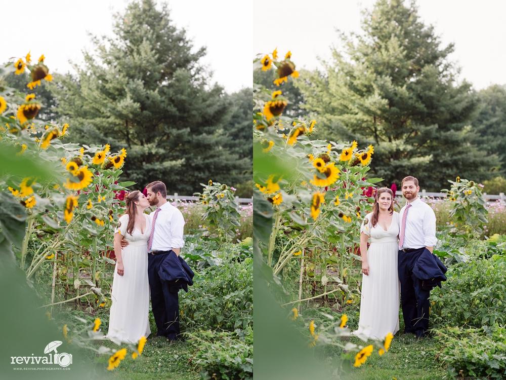 Summer Elopement Garden A Summertime Elopement at The Mast Farm Inn Photos by Revival Photography Elopement Photographers www.revivalphotography.com