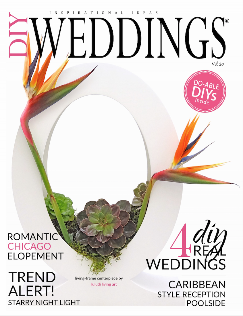 We are so excited to announce that Liz + Ted's beautiful mountain wedding is featured in the latest issue of DIY Weddings Magazine! www.revivalphotography.com