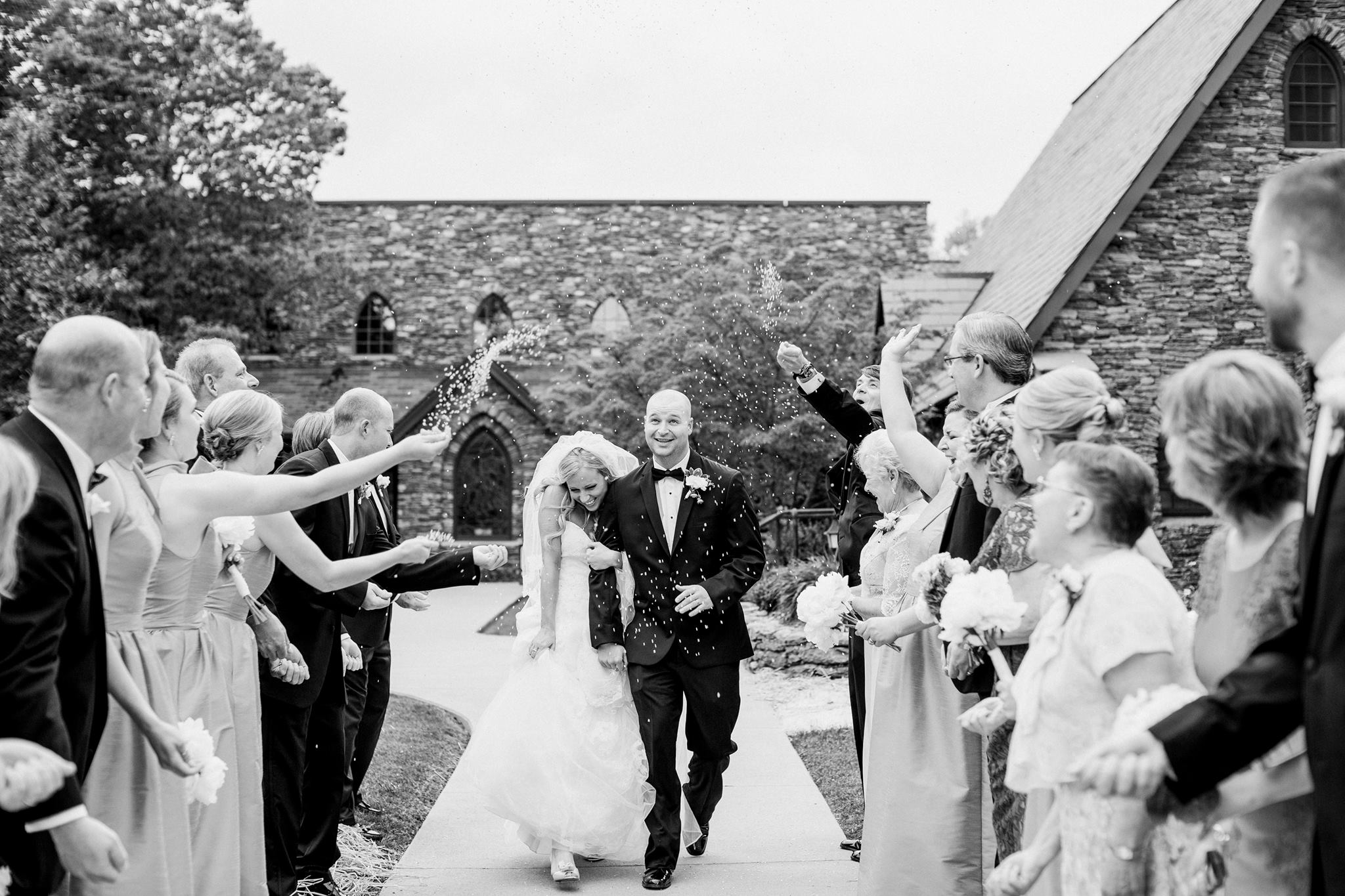 """""""Heather and Jason are absolutely the best one can ask for in wedding photography. Their work is extraordinary! Our entire bridal party and family felt so at ease and had such a wonderful day! They will make your wedding day look incredible- and they are amazing to work with!"""" - Claire + Taylor   Read More"""