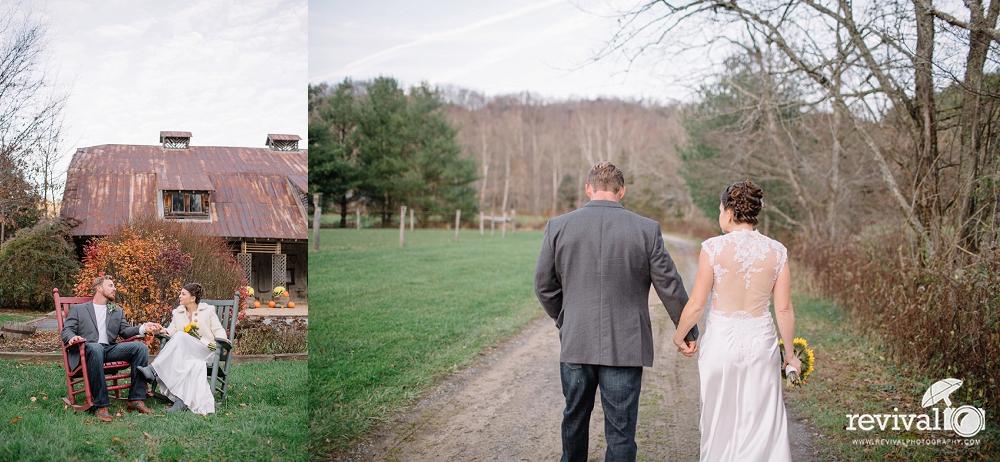 Erica + Jacob: A Fall Elopement at The Mast Farm inn, Valle Crucis, NC NC Elopement Photographers Revival Photography www.revivalphotography.com