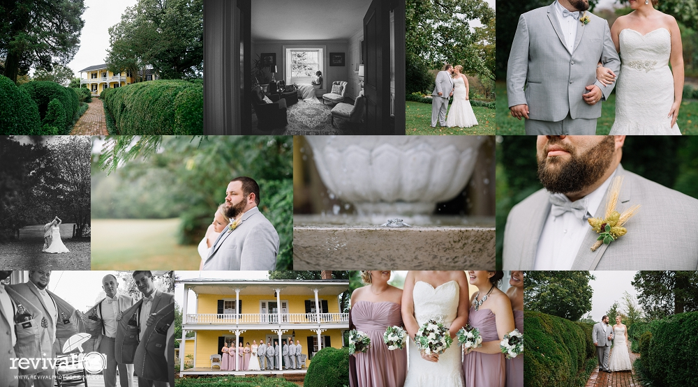 Kate + Jon: A Vintage-Inspired Wedding at The 1812 Hitching Post, Harmony, NC
