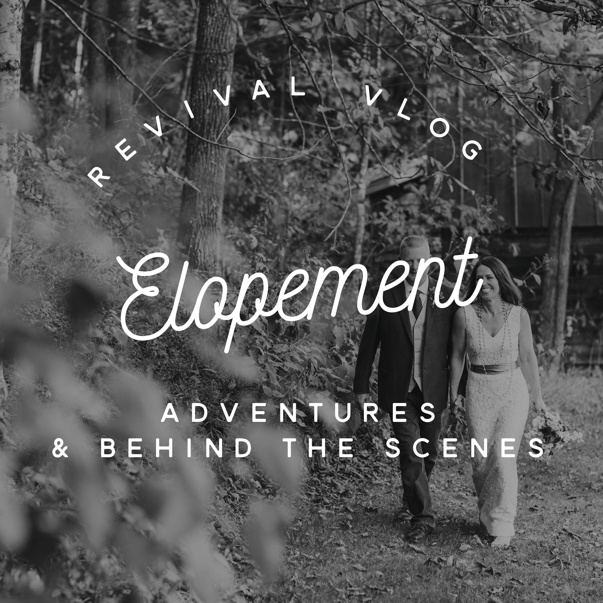Revival Vlog: Elopement Adventures at The Mast Farm Inn 10.5.16