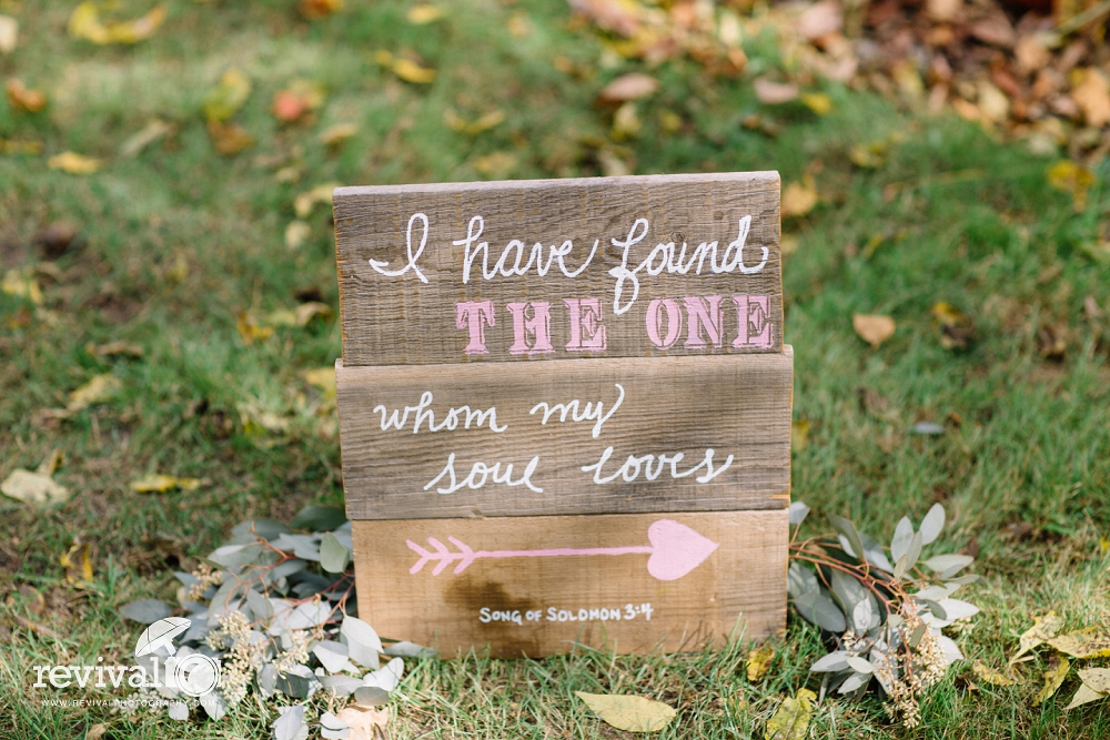 Song of Solomon Wedding Sign Idea - Ashley + Jesse: An Intimate Fall Wedding Celebration at The Mast Farm Inn by Revival Photography NC Wedding Photographers www.revivalphotography.com