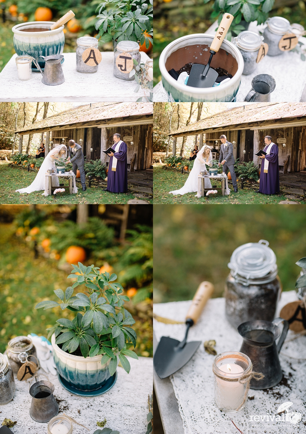 Ashley + Jesse: An Intimate Fall Wedding Celebration at The Mast Farm Inn by Revival Photography NC Wedding Photographers www.revivalphotography.com