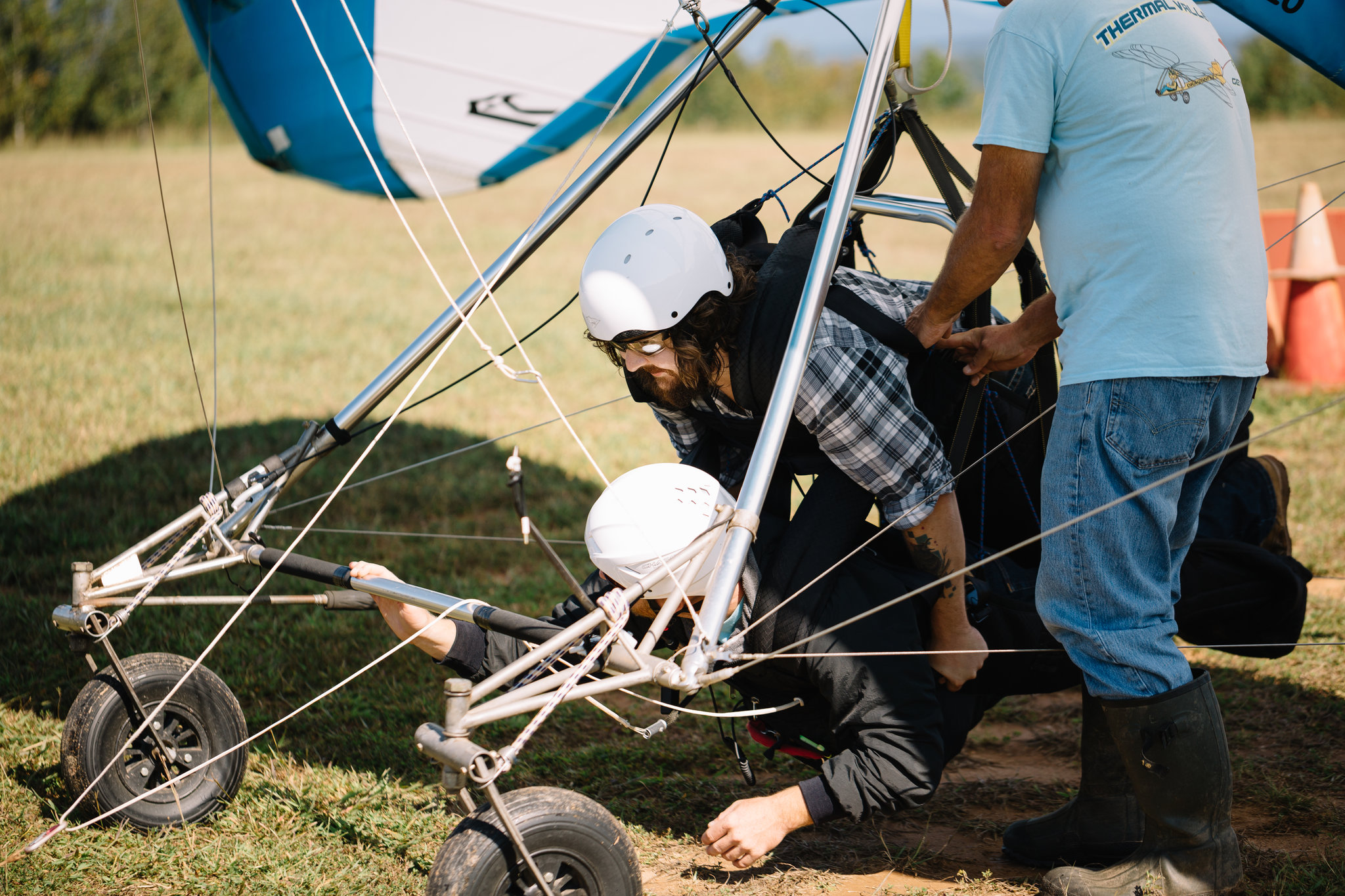 Revival Vlog: Behind the Scenes from our shoot with Thermal Valley Aerosports for Our State Magazine