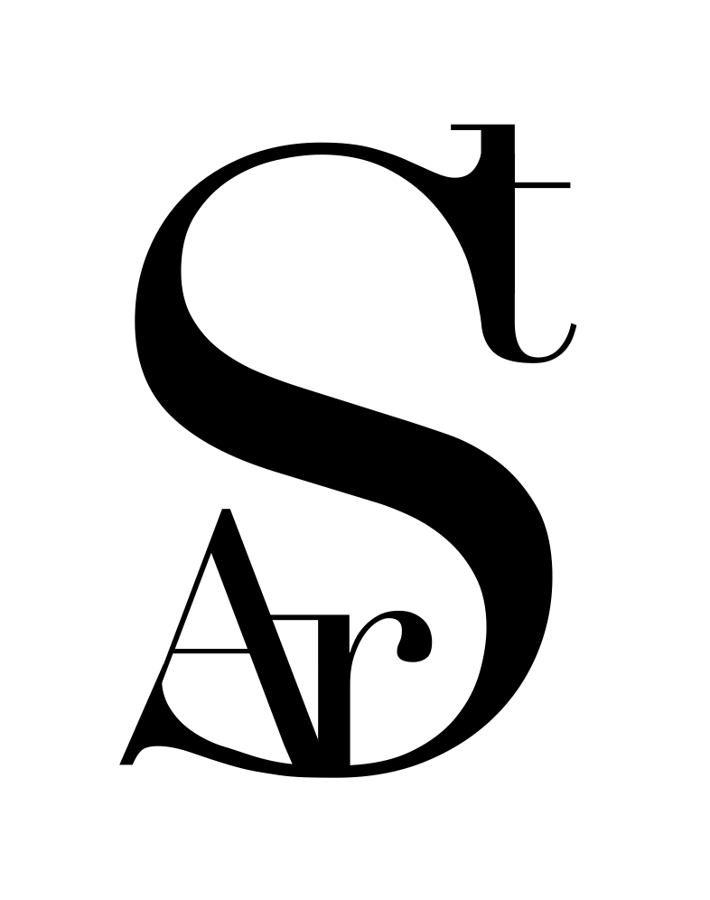 Ar-Stylish stand-alone logo