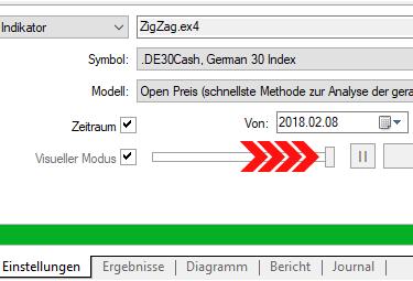 Screenshot 4: Test schneller machen
